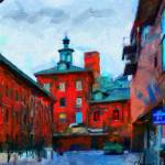 """Toronto Distillery District"" by DiNovici"