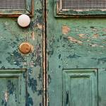 """Peeling Paint on a Door"" by swazoo"