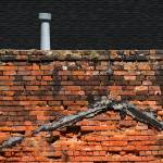 """""""Brick Wall with Roof Jack"""" by swazoo"""