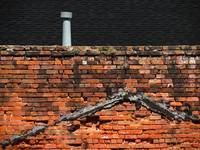 Brick Wall with Roof Jack