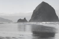 Morning at Haystack Rock