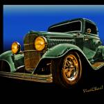 """This 32 Ford Coupe Jumps Off The Page"" by chassinklier"