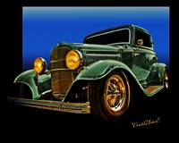 This 32 Ford Coupe Jumps Off The Page
