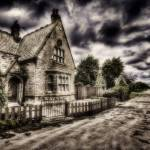 """the  GATE-HOUSE"" by DEREK_TOMKINS"