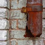 """Rusty Downspout"" by swazoo"