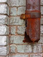 Rusty Downspout