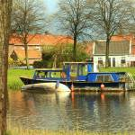 """boats in volendam"" by abram"
