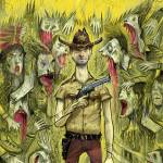"""Walking Dead cover for Paste Magazine"" by timothybanks"