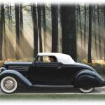 """1936 Ford Cabriolet Mild Custom"" by minnron37"