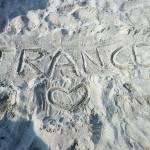 """Trance written on beach"" by Stetrance83"