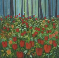 Tulips in the Underbrush