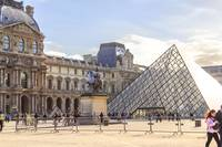 A Louvre Picture