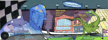 Indianapolis, Indiana by John Haliburton