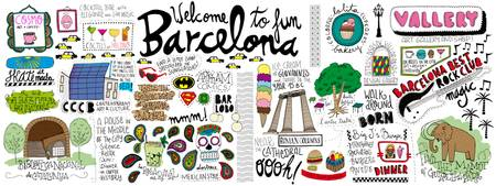 Barcelona, Spain by Renata Ortega