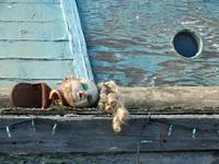 Doll Head on Boat