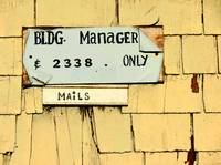 Sign and Mail Slot