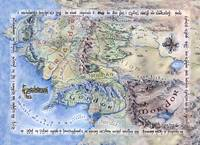 Ennorath- Map of Middle Earth