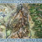 """Hobbit Map"" by tomasz_kowal"