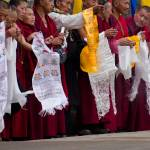 """Monks Waiting for the Dalai Lama"" by boppintheblues"