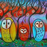 """""""The Owl Family"""" by juliryan"""