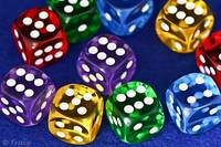 Multi Color Dice