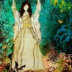 """Angel Art Inspirational Artwork by Janelle Nichol"" by JanelleNichol"