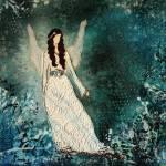 """""""Winter Angel"""" by JanelleNichol"""