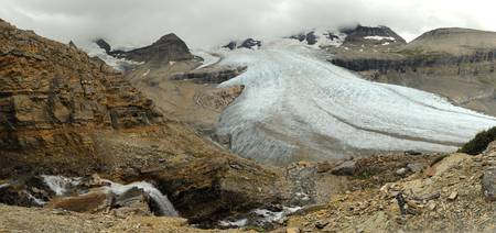 Glacier of Mount Robson
