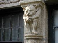 Urban Safari: Cat/Monkey Gargoyle