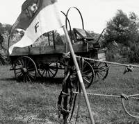 Buffalo Soldiers Wagon and Standard