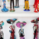 """Day of the Dead Figurines"" by paulasuterphoto"