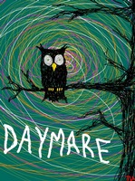 Daymare - Spooky Halloween owl on branch