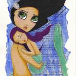 """""""Mermaid + Child"""" by LilliBeanDesigns"""