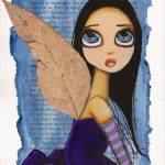 """Purple Gum Tree Fairy"" by LilliBeanDesigns"