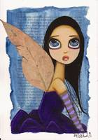Purple Gum Tree Fairy