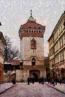 Florian gate in winter
