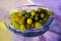 Grapes on the Half Shell