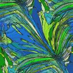 """Graphic Palm Grass"" by bclelandart"
