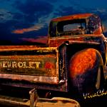 """Rat Rod Chevy Truck"" by chassinklier"