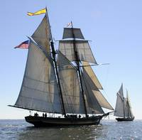 Pride of Baltimore ll and Virginia Pilot Schooner