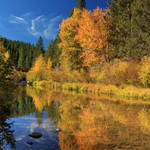 """Autumn Along The Susan River"" by jameseddy"