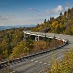 """Linn Cove Viaduct October 2012"" by adifferenteyephotography"