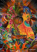 Bird of Fire Guitar