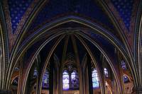Chapelle Saint Michelle Interior Arches