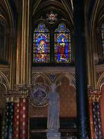 Stained Glass & Sculpture - Chapelle Saint Michell