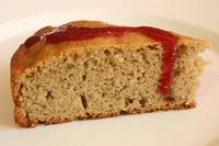 Banana Cake with Jelly