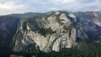Yosemite - North Dome & Royal Arch Panorama