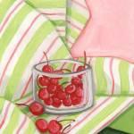 """Bowl of Cherries"" by GinaPerry"