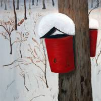 """Maple Sap Harvest"" by John Small"