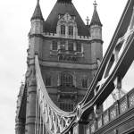 """The Tower Bridge in Black & White 01"" by kimby"